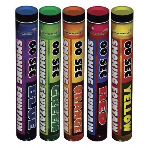 Купить цветной дым на 60 секунд средней интенсивности