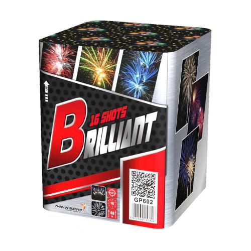 Салют Brilliant на 16 зарядов