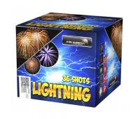 Салют Lightning на 36 зарядів