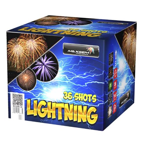 Салют Lightning на 36 зарядов
