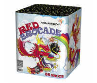 Салют Red Brocade на 36 зарядов