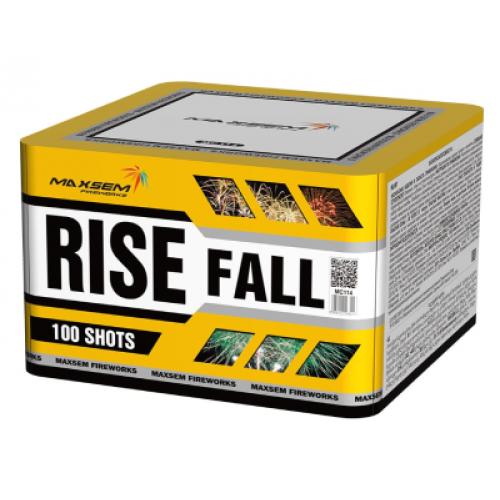 Салют Rise Fall на 100 зарядов