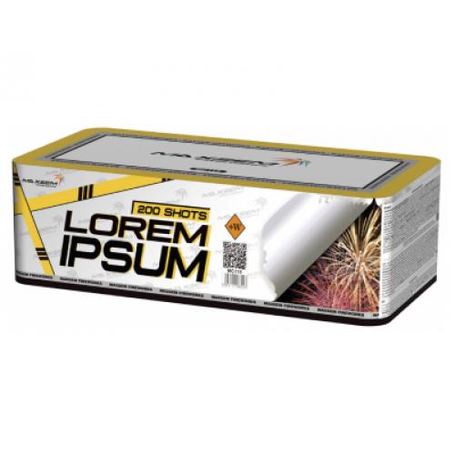 Салют Lorem Ipsum на 200 зарядів