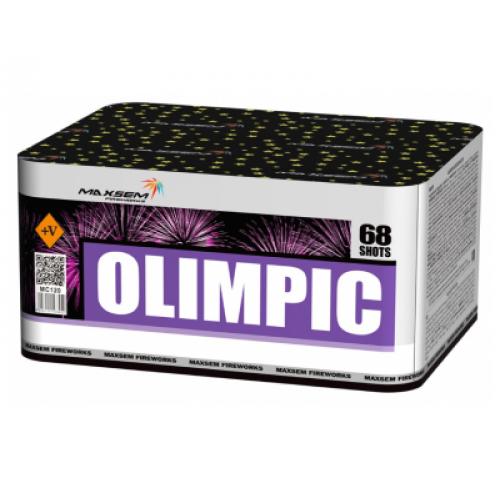 Салют Olimpic на 68 зарядів
