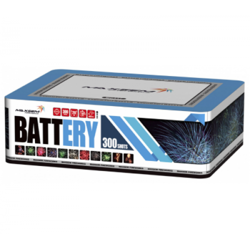 Салют Battery на 300 зарядів