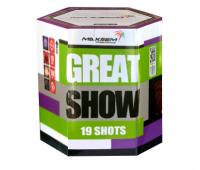 Салют Great Show на 19 зарядів