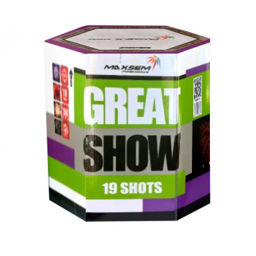 Салют Great Show на 19 зарядов