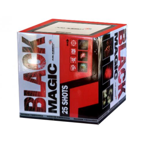 Салют Black magic на 25 зарядов