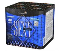 Салют Sexy Blue на 49 зарядов