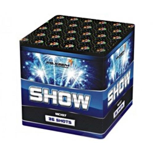 Купить салют Show на 36 зарядов для праздника по низкой цене